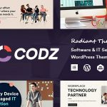 Codz - Software & IT Services WordPress Theme v1.0.4