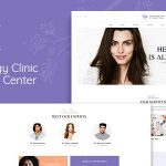 D&C | Dermatology Clinic & Cosmetology Center WordPress Theme v1.2.3