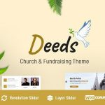 Deeds - Best Responsive Nonprofit Church WordPress Theme v8.1