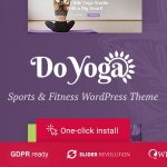 Do Yoga - Fitness Studio & Yoga Club WordPress Theme v1.1.2