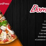 Domnoo - Pizza & Restaurant WordPress Theme v1.26