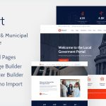 EGovt - City Government WordPress Theme v1.0.4
