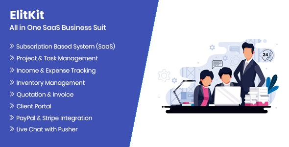 ElitKit - All In One SaaS Business Suit v1.7