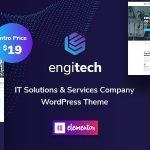 Engitech - IT Solutions & Services WordPress Theme 2021-01-08