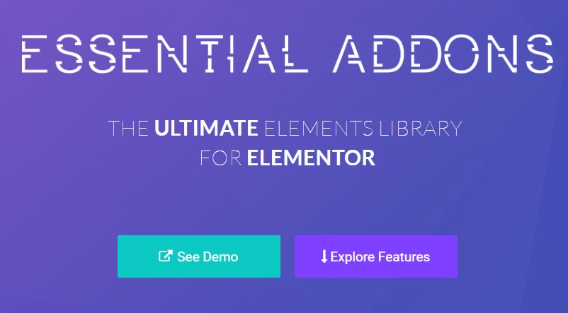 Essential Addons — Most Popular Elements Library For Elementor v4.2.4 Nulled