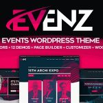 Evenz - Conference and Event WordPress Theme v1.2.8