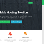 FlatHost WordPress Hosting Theme + WHMCS v2.4