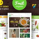 Food Fruit - Organic Farm, Natural RTL Responsive WooCommerce WordPress Theme v5.4.0