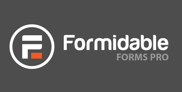 Formidable Forms Pro - WordPress Forms Plugin & Online Application Builders v4.09.02 + Addons