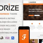 Fundrize | Responsive Donation & Charity WordPress Theme v1.15