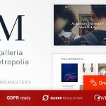 Galleria Metropolia - Art Museum & Exhibition Gallery Theme v1.1.2