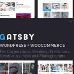 Gatsby - WordPress + eCommerce Theme v1.5