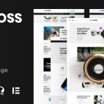 Gloss | Viral News Magazine WordPress Blog Theme + Shop v1.0.2