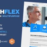 HEALTHFLEX - Doctor Medical Clinic & Health WordPress Theme v2.2.0
