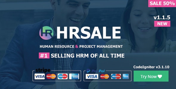 HRSALE - The Ultimate HRM v2.0.1