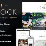 Hemlock - A Responsive WordPress Blog Theme v1.8.3