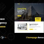 Hub2B - Coworking Space and Digital Agency WordPress Theme v1.0.6