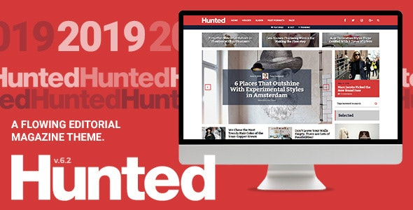 Hunted - A Flowing Editorial Magazine Theme v8.0