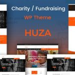 Huza - Charity/Fundraising Responsive WordPress Theme v1.19