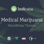 Indicana - Medical Marijuana Dispensary WordPress Theme v1.4.6