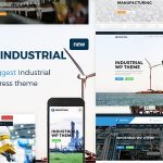 Industrial - Factory Business WordPress Theme v1.6.1