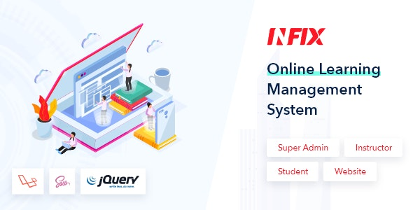 InfixLMS - Open Source Learning Management System VueJs v1.1 Nulled