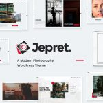 Jepret - Modern Photography WordPress Theme v1.2