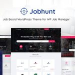 Jobhunt - Job Board WordPress theme for WP Job Manager v1.2.6