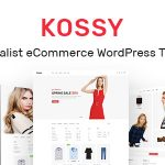 Kossy - Minimalist eCommerce WordPress Theme v1.24