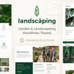 Landscaping - Garden Landscaper WordPress Theme v8.0