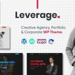 Leverage - Creative Agency & Portfolio WordPress Theme v2.0.3