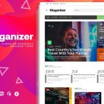 Maganizer - Modern Magazine WordPress Theme v1.0