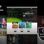 Maruthi Fitness - Fitness Center WordPress Theme v2.3