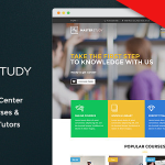 Masterstudy - Education WordPress Theme for Learning, Training Education Center v4.2.0 Nulled