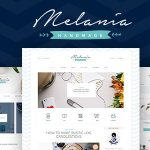 Melania | Handmade Blog & Shop WordPress Theme v1.5.3