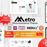 Metro - Minimal WooCommerce WordPress Theme v1.6.0