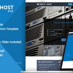 Multi Hosting | WHMCS Hosting WordPress Theme v2.3