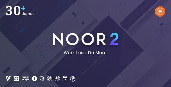 Noor | Multi-Purpose & Fully Customizable Creative AMP Theme v5.6.23 Nulled