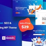 Onum - SEO & Marketing Elementor WordPress Theme v1.2.0.11