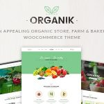 Organik - Organic Food Store WordPress Theme v2.9.4