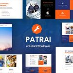 Patrai Industry - Industrial WordPress Theme v1.8