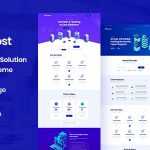 Piohost - Domain and Web Hosting WordPress Theme v1.0 - 16 December 2020