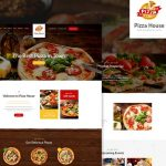 Pizza House - Restaurant / Cafe / Bistro WordPress Theme v1.3