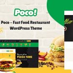 Poco - Fast Food Restaurant WordPress Theme v1.5.0