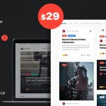 PressGrid - Frontend Publish Reaction & Multimedia Theme v1.3.1