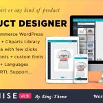 Product Designer for WooCommerce WordPress | Lumise v1.9.8 Nulled