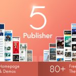 Publisher - Newspaper Magazine AMP v7.8.0 Nulled
