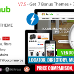 REHub - Price Comparison, Affiliate Marketing, Multi Vendor Store, Community Theme v13.9.5 Nulled