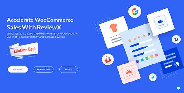 ReviewX Pro - Accelerate WooCommerce Sales With ReviewX v1.1.4
