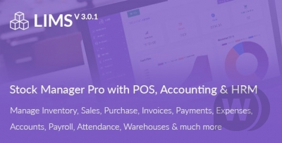 SalePro - Inventory Management System with POS, HRM, Accounting v3.3.8